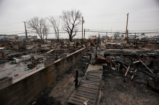 Breezy Point, N.Y. nearly five weeks after Sandy hit.